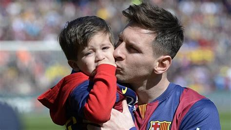 messi kid tattoo fc barcelona messi quot thiago es lo m 225 s importante de mi