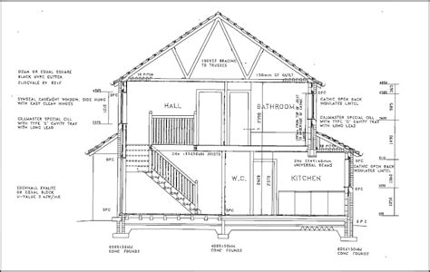 section style types of drawings for building design designing