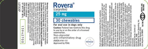rovera for dogs rovera zoetis inc veterinary package insert page 3