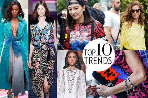 top trends spring 2015 trends