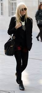 Its Officially Winter Hat Season Fearne Cotton And Osbourne In Wooly Hats by Fearne Cotton Has As The Windy Weather Play