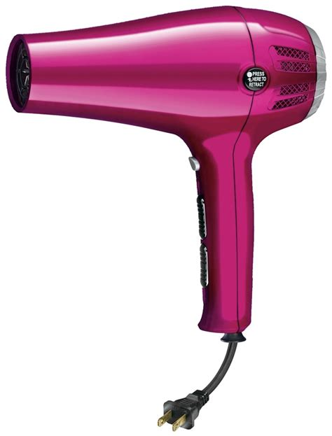 Conair Hair Dryer Ionic Ceramic conair 209r ionic ceramic cord keeper hair dryer 1875 w retractable line cord 3 heat 2 speed