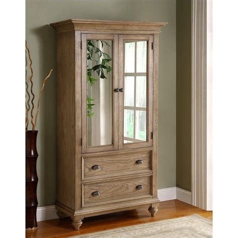 Armoire In by Riverside Furniture Coventry Armoire In Driftwood 32463