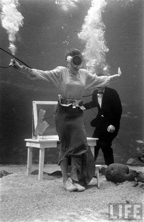 Rare Photos of an Underwater Fashion Show That Took Place