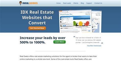 real geeks best real estate web design firms 10 best
