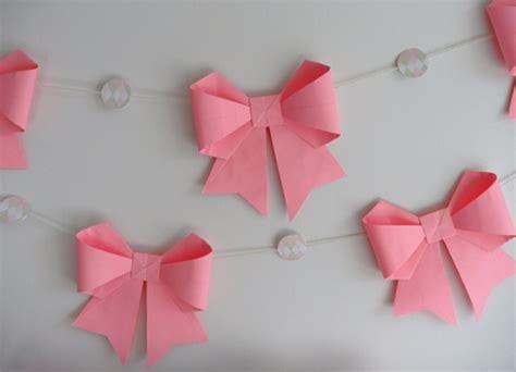 Easy Origami Bow - wonderful diy origami paper bow