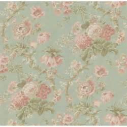 La fleur vintage floral wallpaper