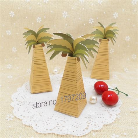 Harga Baby Box Chocolate by 20pcs Wedding Favor Box Boxes Coconut Palm Tree Baby