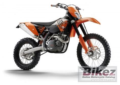 2008 Ktm 450 Excr 2008 Ktm 450 Exc R Specifications And Pictures