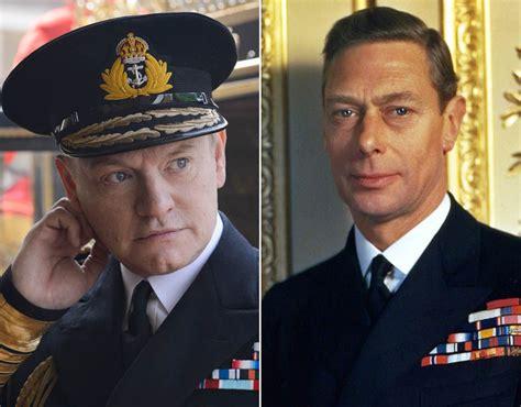 actor king george the crown jared harris as king george vi the cast of the crown vs