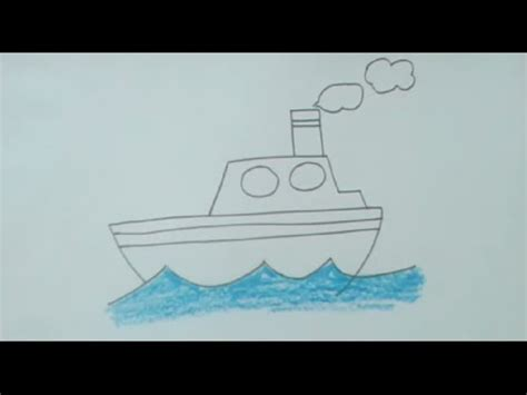 how to make paper boat very easily learn how to draw sailboat doovi
