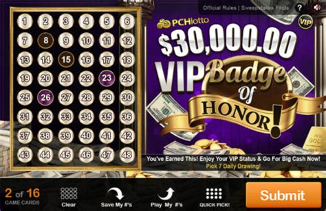 Pch Vip - new publishers clearing house prize opportunities for
