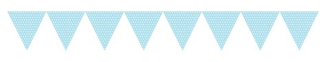 How To Decorate Candles At Home Baby Blue Polka Dot Card Bunting Flingers