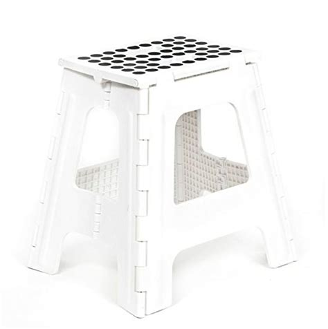 rhino ii folding step stool white kikkerland rhino folding step stool white