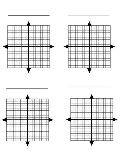 printable graph paper with 6 graphs free printable graph paper to download video math teacher