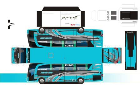 Miniatur Subur Jaya All Warna bismania cilacap free 10 model paperbus