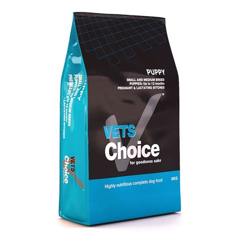 choice puppies buy vets choice small and medium breed puppy food epetstore co za