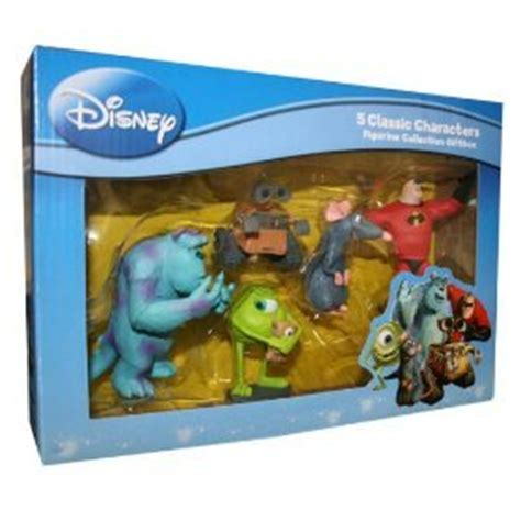 Limited Stock Wall E Figure Set disney pixar classic character 5pc figurine collection box toys