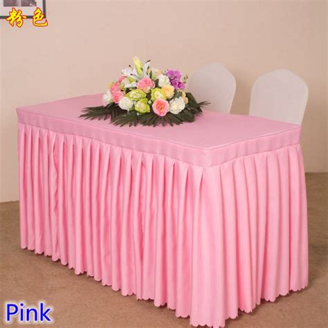 linen table skirts compare prices on cloth table skirts shopping buy low price cloth table skirts at