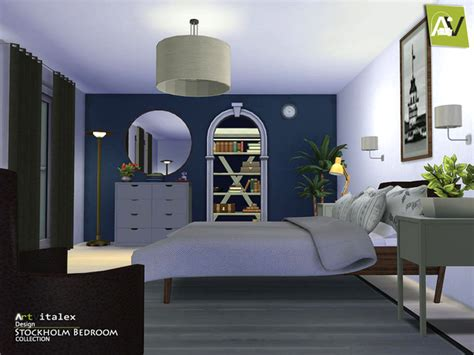 sims 4 schlafzimmer stockholm bedroom by artvitalex at tsr 187 sims 4 updates