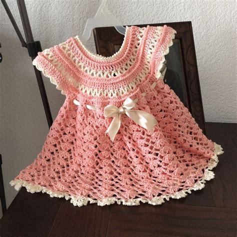 como tejer vestidos para bebe crochet m 225 s de 25 ideas fant 225 sticas sobre chambritas a gancho en