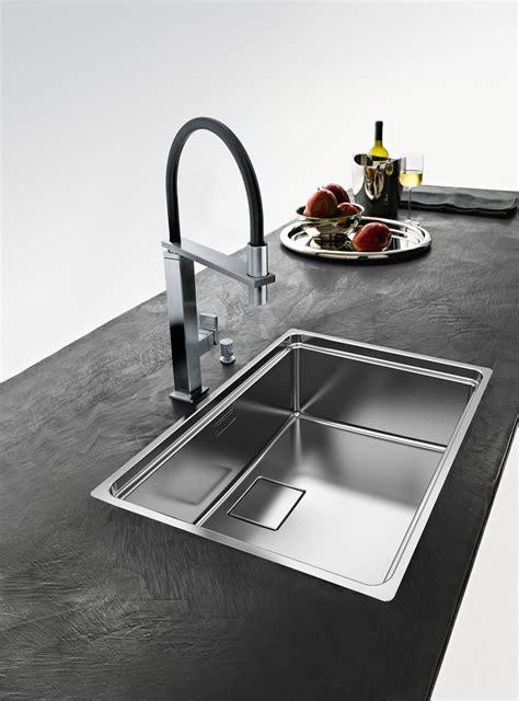 Franke Kitchen Sink Centinox Sink Cmx 210 50 Stainless Steel Kitchen Sinks From Franke Kitchen Systems Architonic