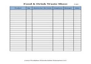 Food Waste Log Template 28 food waste log template food recovery programs k