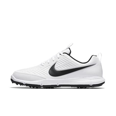 nike explorer 2 wide s golf shoe in white for lyst