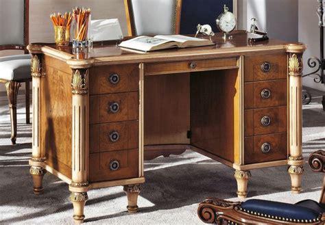 scrivanie di lusso scrivania classica di lusso in legno per la casa idfdesign