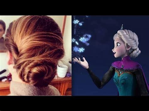 how to frozen elsas coronation hair elsa s hair tutorial coronation updo hairstyle frozen