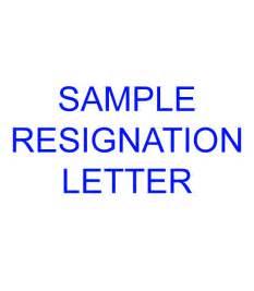 Resignation letter sample filesishare