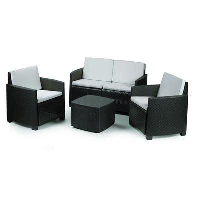 Etna Set Black 14 best images about garden furniture on