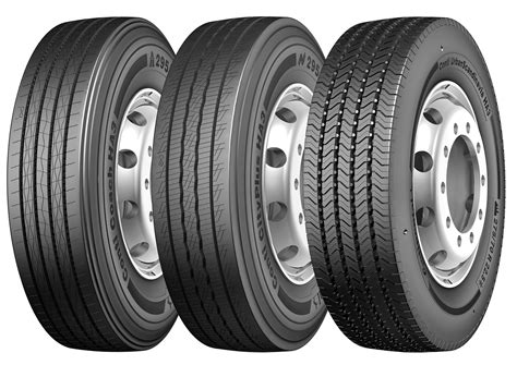continental truck tires from tires to fleet management continental displays its