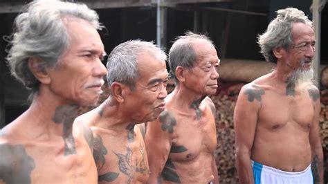 tato has dayak the tribal tattoo of dayak iban youtube