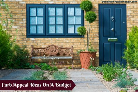 curb appeal on a budget curb appeal design ideas on a budget