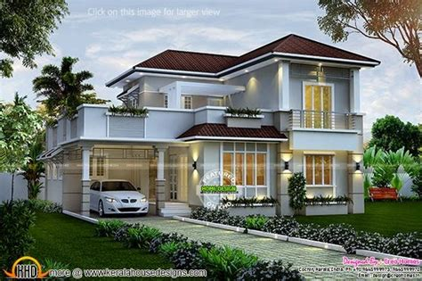 1940 sq ft 4 bedroom villa kerala home design and floor