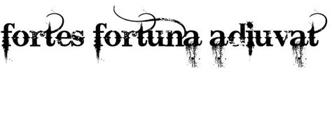 john wick tattoo fortis fortuna adiuvat a tattoo the bold and tattoos and body art on pinterest