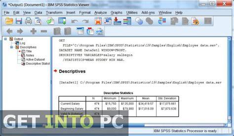 tutorial ibm spss statistics 20 accounting peachtree 2013 setup free download