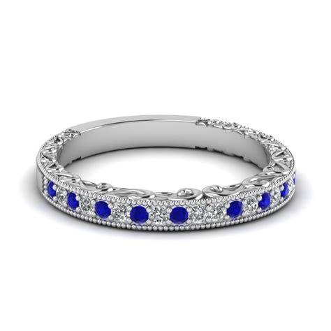 buy stunning sapphire wedding bands  women
