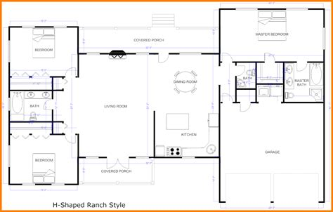 center floor plan center free home plans