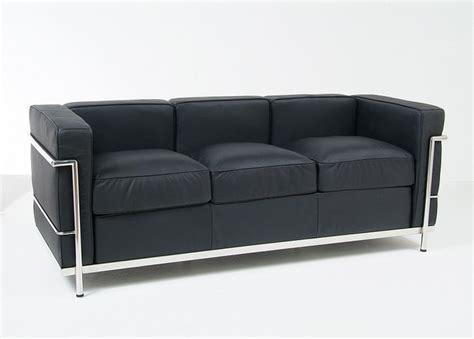 afa sofa le corbusier lc2 sofa reproduction modern