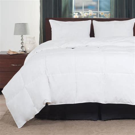 white down comforter king lavish home overfilled white down alternative king