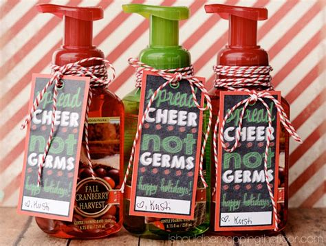cute christmas gifts for coworkers soap gift
