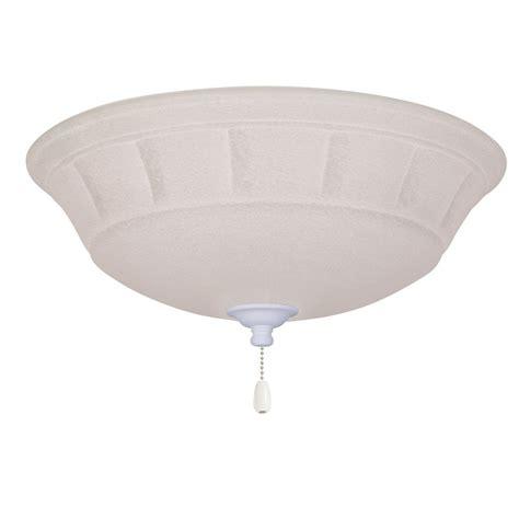 emerson ceiling fan white emerson grande white mist 3 light satin white ceiling fan
