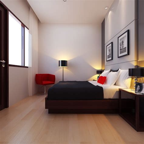 inspirasi dekorasi desain kamar tidur minimalis