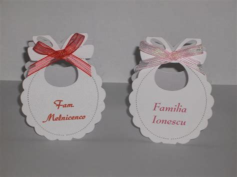 Baby Shower Place Cards by Baby Shower Bib Place Cards Baby Ideas