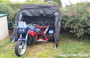 bike home trike tourer motorbike cover suitable for larger sized