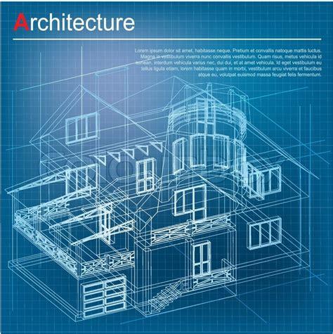 construction blueprint urban blueprint vector architectural background part