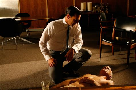 mad men on the couch mad men season 1 episode 10 long weekend couch commando