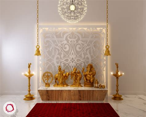 home temple decoration ideas 8 mandir designs for contemporary indian homes